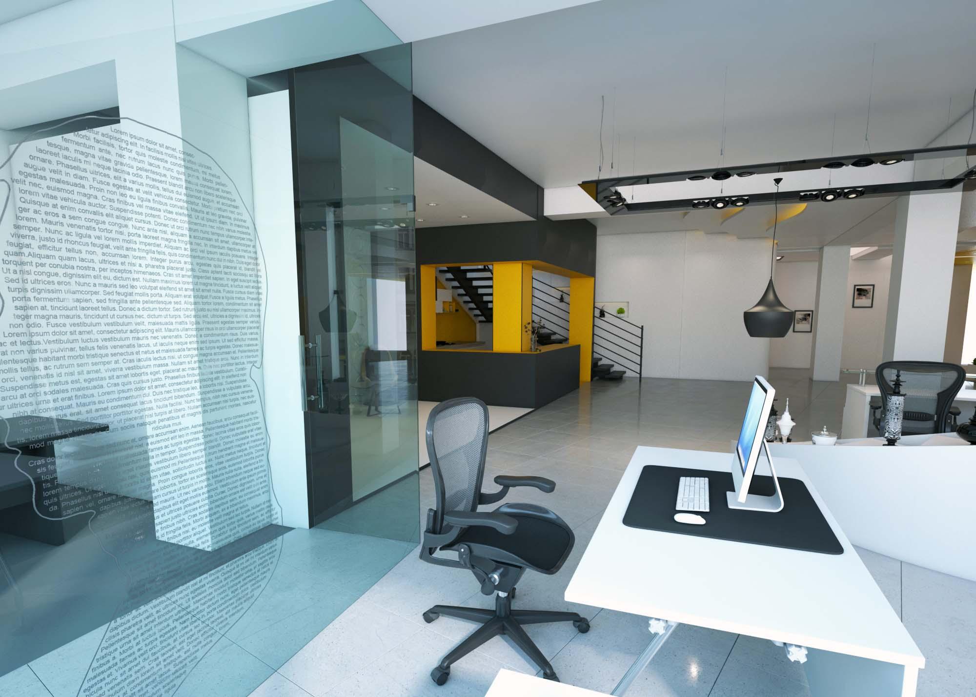 طراحی داخلی شرکت