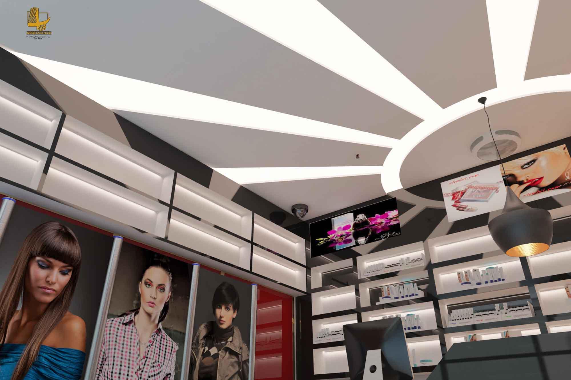 طراحی داخلی فروشگاه
