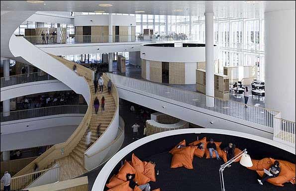 طراحی داخلی دانشگاه