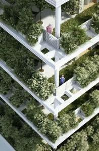 باغ سبز عمودی
