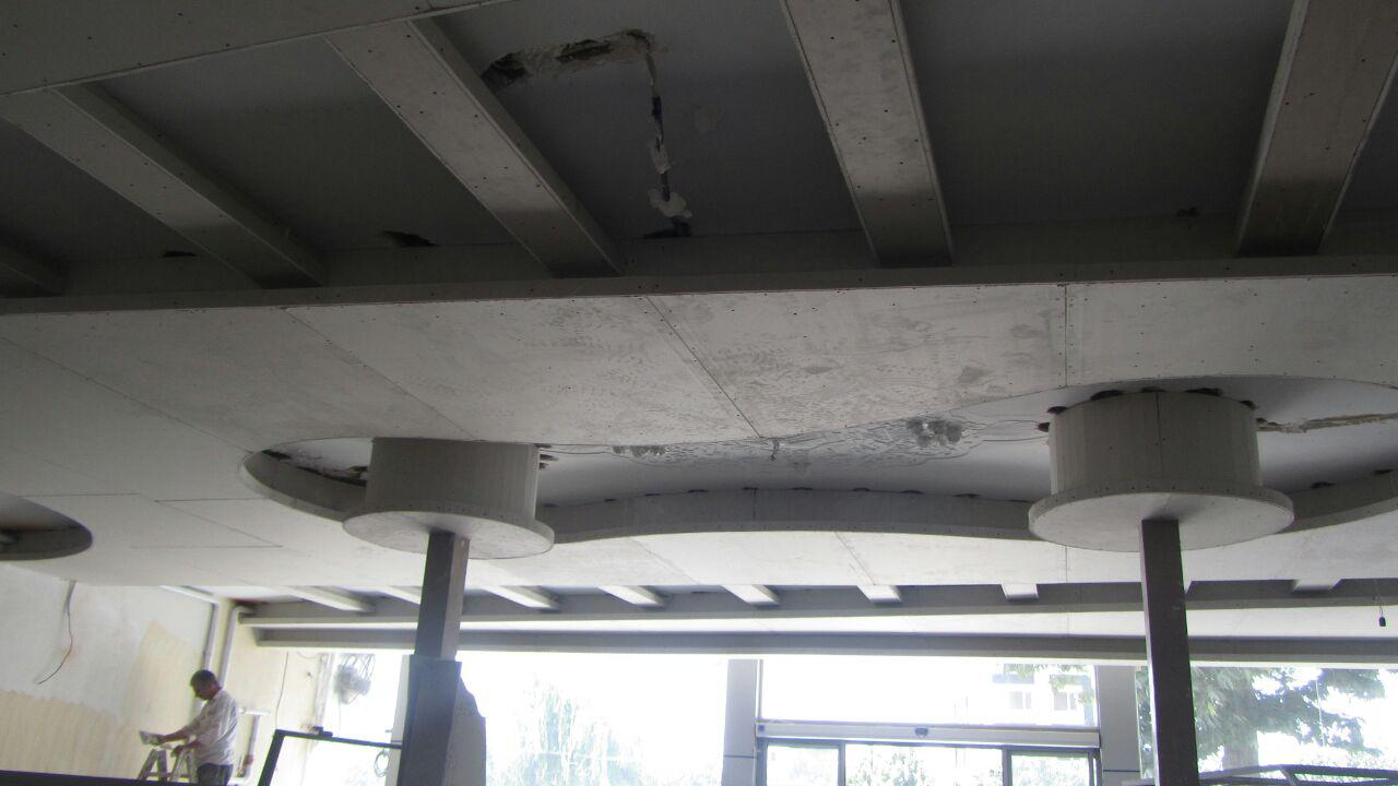 طراحی و اجرای سقف کناف رستوران