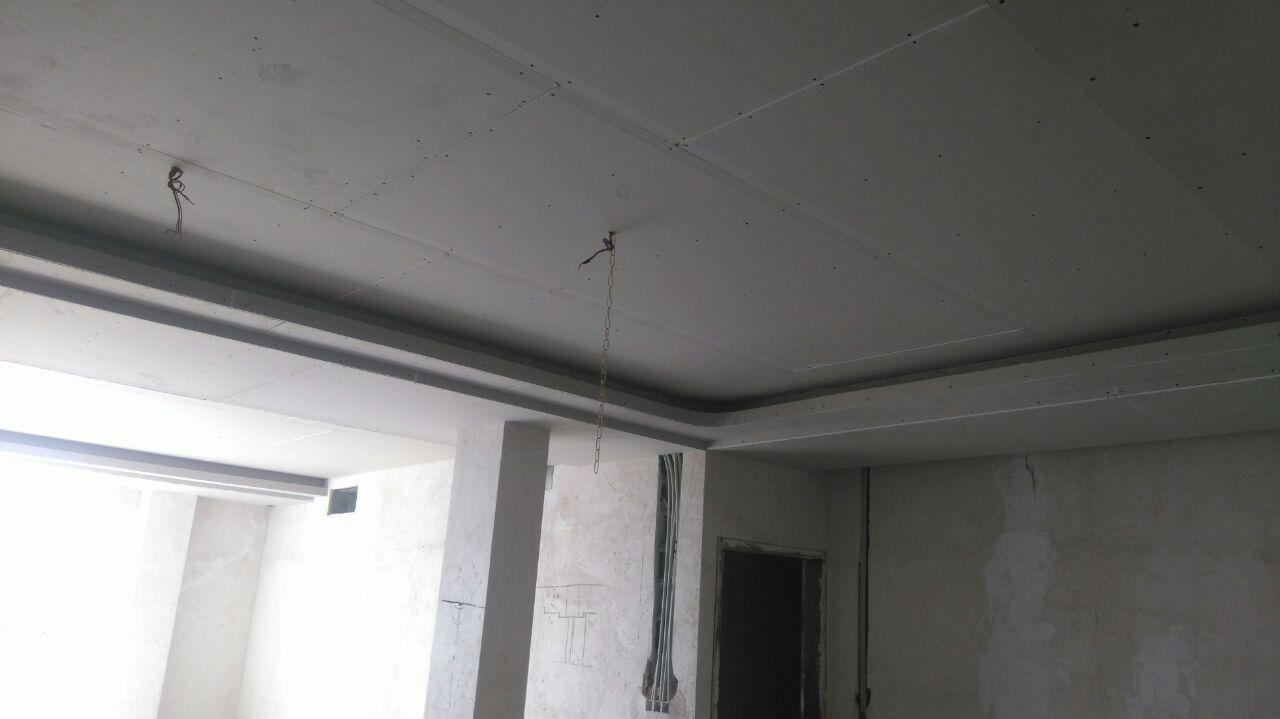 طراحی و اجرای سقف کناف