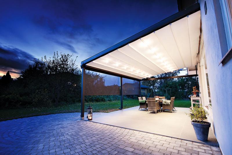 پوشش متحرک سقف